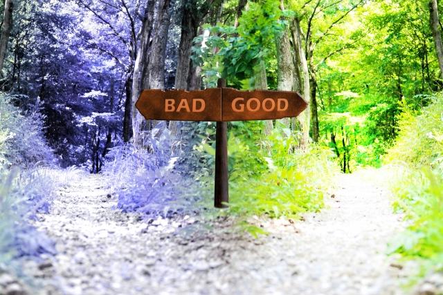 良い悪いはあなたが決めること